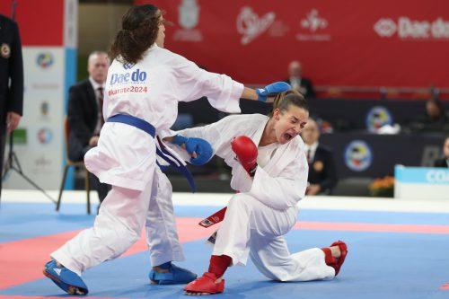 Augen zu und durch: Die Feldkircherin Bettina Plank kämpft um die Teilnahme an den Olympischen Spielen in Tokio 2020.GEPA