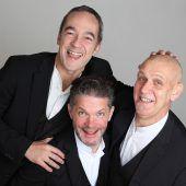 Wortspielereien mit dem Trio Lepschi im Theater am Saumarkt
