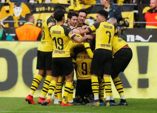 Borussia Dortmund ist für das Spitzenspiel gegen Bayern München gerüstet. Reuters
