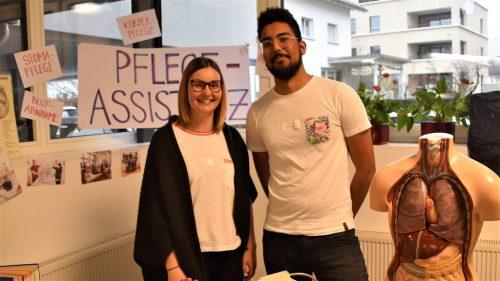 Daniela Roth und Philippe Louis informierten die Besucher.