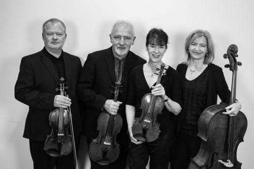 Das britische Brodksy Quartet spielte unter anderem Werke von Beethoven und Mendelssohn Bartholdy. Veranstalter