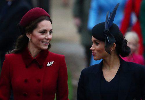 Das Clarence House und der Kensington Palast gehen gegen Klatsch der britischen Regenbogenpresse besonders über Catherine und Meghan vor. Reuters