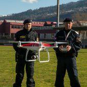 Vorarlberger Polizei setzt nun auch Drohnen ein