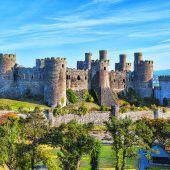 Der Ort Conwy und sein Schloss