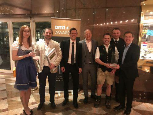 Das Team von Glatz Klischee konnte zwei Auszeichnungen entgegennehmen. Glatz