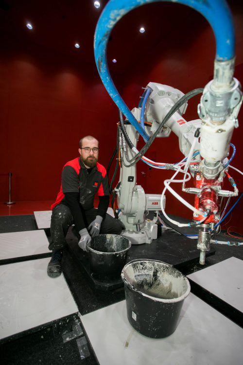 Der 3D-Betondrucker war eines der Highlights bei der com:bau.VN/Paulitsch