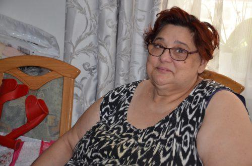 Der Alltag von Jovanka Djordevic spielt sich zuzeit nur in ihrer Wohnung ab. vn/hrj