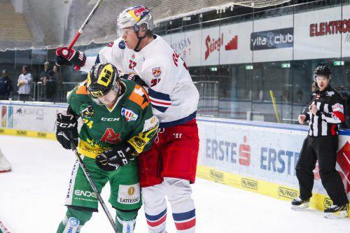 Der EHC Lustenau ist nach der 2:3-Niederlage in Salzburg unter Druck.gepa