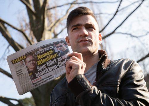 Der Identitären-Sprecher Martin Sellner geriet wegen einer Geldspende des mutmaßlichen Christchurch-Attentäters in die Schlagzeilen. apa