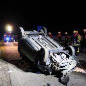 Lindau: Zwei Vorarlbergerinnen bei Unfall mit Geister-Lkw verletzt