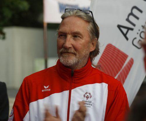 Der Schwarzenberger Heinrich Olsen (64) fungiert in Abu Dhabi zum 17. Mal als Sportdirektor und Delegationsleiter bei Special-Olympics-Weltspielen.Paulitsch
