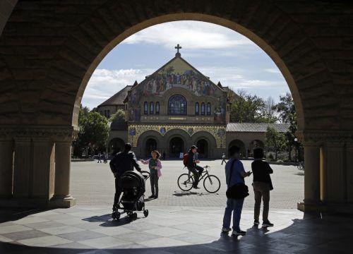 Der Stanford University Campus: Das Ziel einiger Eltern für ihre Kinder. AP