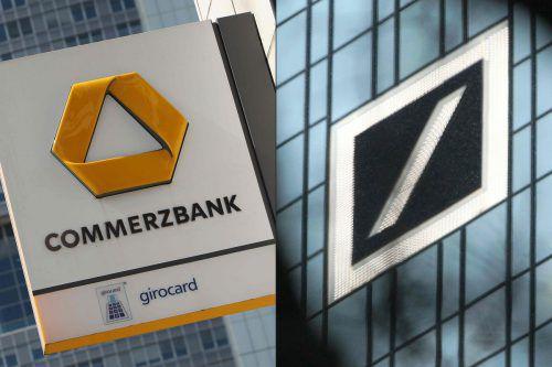 Deutsche Bank und Commerzbank nehmen Gespräche über eine mögliche Fusion auf. Es gebe aber keine Gewähr, dass es zu einer Transaktion komme. AFP
