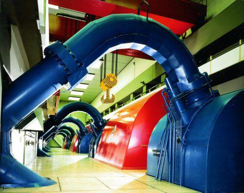 Die Abwärme der Illwerke-Kraftwerke wird nun doch genutzt werden. VN