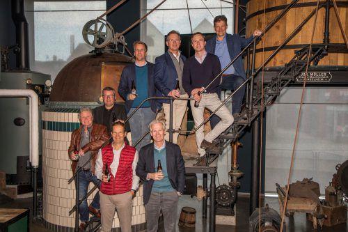 Die acht CulturBrauer sehen sich als Bewahrer der Biervielfalt. VN/Paulitsch