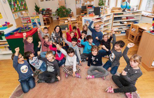 Die Begeisterung der Volksschüler bleibt immer auch ein Produkt der Begeisterungsfähigkeit ihrer Lehrer. VN/STIPLOVSEK