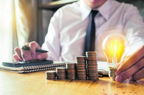 Die Beleuchtung hat die größten Stromverbrauchsanteile eines Haushalts.foto: Shutterstock