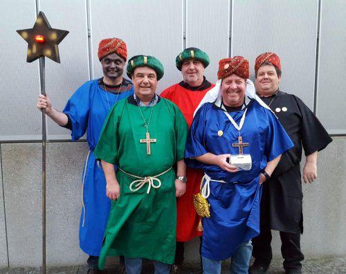Die Bethlehembrothers im Dienste einer guten Sache. g. Lang
