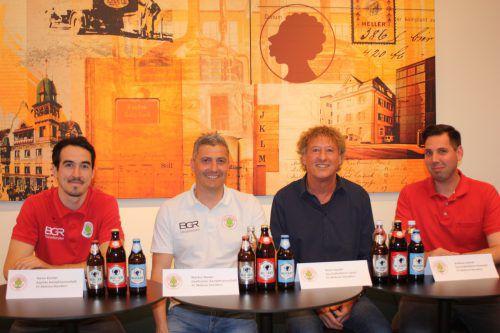 Die FCD-Geschäftsführer Peter Handle (l.) und Andreas Genser. Knobe