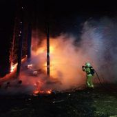 Brandstifter fackelten Funken in Höchst ab