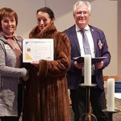 Lions-Weltpräsidentin in Lech zu Gast