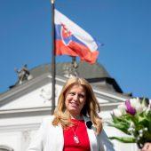 Slowakei hat erstmals eine Präsidentin