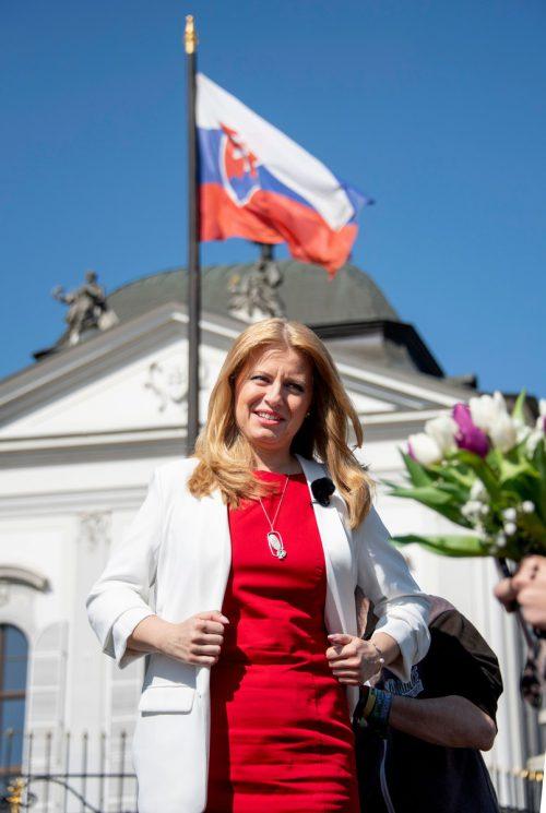 Die Juristin Zuzana Caputova ist zur Präsidentin der Slowakei gewählt worden. afp