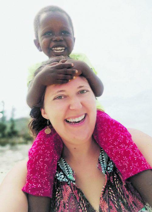 Die Kinder von Malindi liegen Elisabeth Felder am Herzen. Majimbo