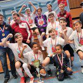 Hallenzauber bei Schülerligafinale