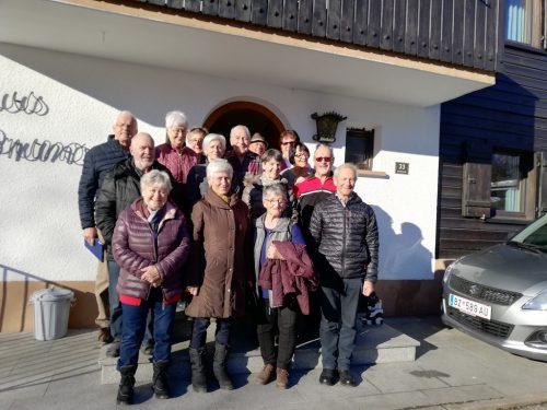 Die Mitglieder des KAB Lustenau verbrachten eine schöne Zeit in Vandans.kab