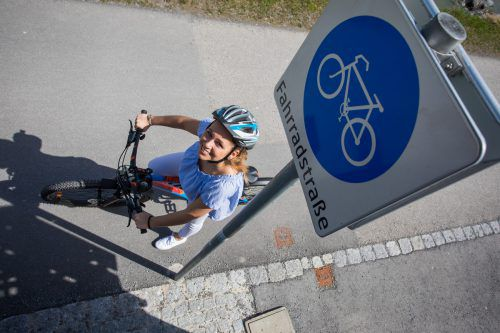 Die Radfahrer bekommen mit dem neuen Verein eine zusätzliche Stimme. VN/Steurer