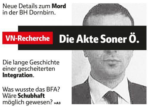 Die Recherchen von VN und Falter in der Mittwochsausgabe haben zu neuen Erkenntnissen im Mordfall in der BH Dornbirn geführt.