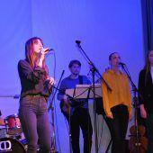 Gesangstalente auf der Bühne des Jazz-Seminars