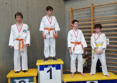 Die Sieger des Schülerturniersunion judoclub