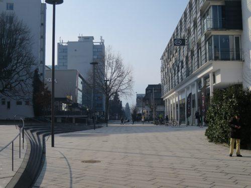 Die Verlängerung der Fußgängerzone in der Schulgasse ist ein Thema.