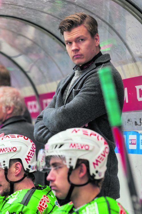 Die Zukunft von Trainer Markus Juurikkala ist offen.stiplovsek