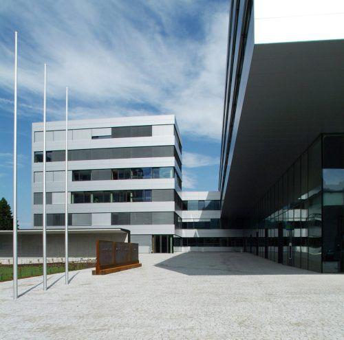 Dornbirns Fachhochschule wird ausgebaut und als Bildungsstandort gestärkt. werle+walser architektur, VN-Grafik: Maps4News