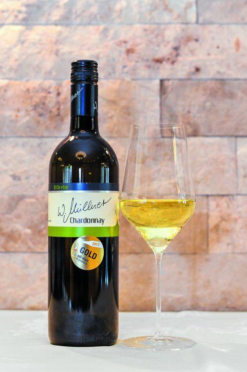 Ein Wein von exzellenter Qualität vom Weingut Müllner.VN/Oliver Lerch