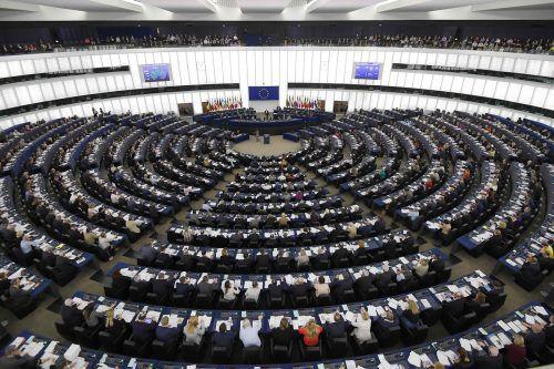 Eine Mehrheit der Abgeordneten billigte trotz Protest im Internet und auf der Straße die Copyright-Reform. AFP