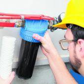 Wasserfilter wechseln