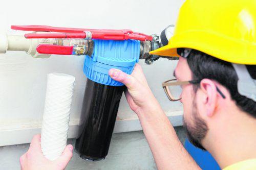 Einmal jährlich sollte man den Filter checken und wechseln. foto: shutterstock