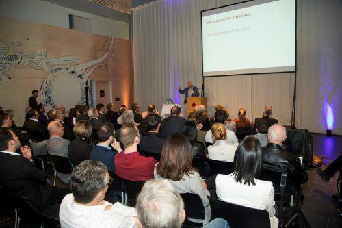 Einmal mehr sorgte ein hochaktuelles Thema für ein volles Haus im CC Rheintal. VN/Paulitsch