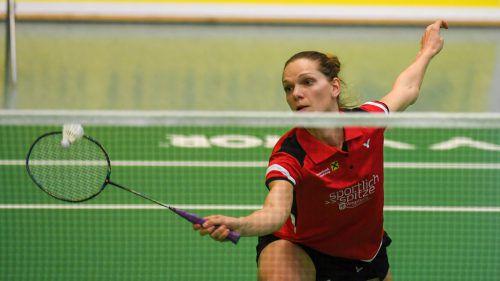Elisabeth Baldauf und der UBSC Wolfurt wollen um jeden Preis als Leader in die K.-o.-Finalserie gehen. VN/Lerch
