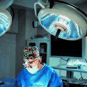Die Endoskopie im Trockentraining geübt