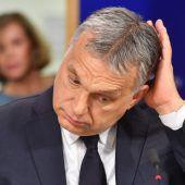 Mitgliedschaft der ungarischen Fidesz sudspendiert