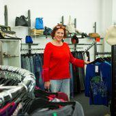 Dagmar Tiefenbrunner will der Umwelt Gutes tun. Sie kauft Secondhand. B2