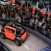 Autohersteller zeigen in Genf, wie die Mobilität der Zukunft aussehen wird. F1–5