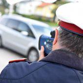 Polizei maß Autofahrer fälschlicherweise mit 160 km/h Geschwindigkeit