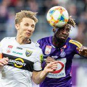 Altach feiert in Spiel eins nach der Trainerentlassung 3:1-Sieg in Wien. C1