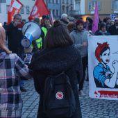 Demo zum Frauentag